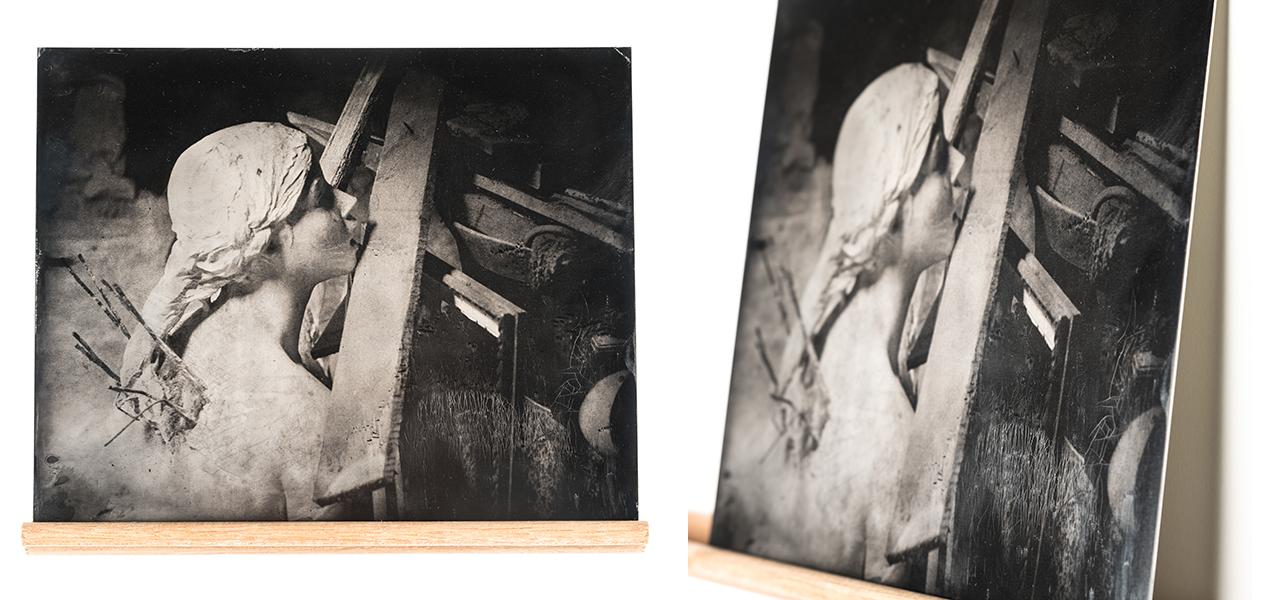 malaxe, atelier malaxe, jean-philippe boiteux, jph.boiteux, Thomas Cartron, ferrotype, collodion, 20x25, 8x10